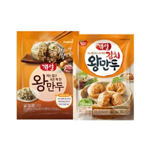 [동원] 개성 왕만두 1.82kg+김치 왕만두1.82kg (지퍼백)