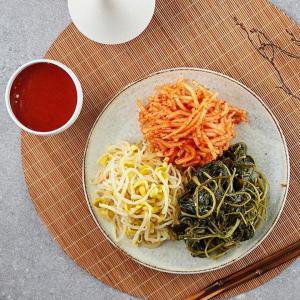 삼색나물과고추장(3~4회분)