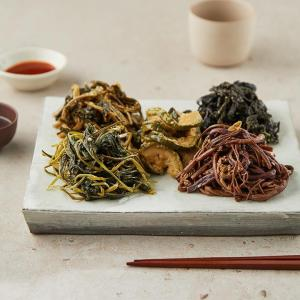 두메산나물비빔밥재료