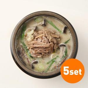 쇠고기들깨탕(5set)