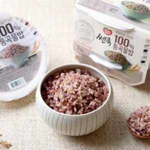 [동원] 쎈쿡 100% 통곡물밥 (195g/3개입)