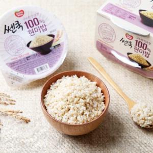 [동원] 쎈쿡 100% 현미밥 (195g/3개입)