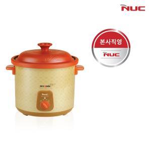 [엔유씨][삼계탕 요리에 딱!♥] 엔유씨 황토 슬로우쿠커(쿠커/찜기) MSC-6010 6L
