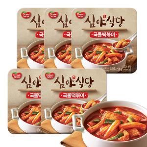 [동원] 심야식당 국물떡볶이 250g x 5pack