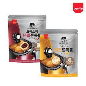 냉동 크리스피 쫀득볼(단팥/치즈 택)