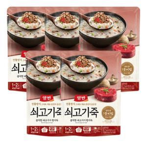 [동원] 양반 쇠고기죽 420g(파우치) x 5ea