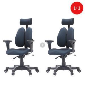[1+1] 듀오백 DK 2500G 패브릭 학생 책상 사무용 의자