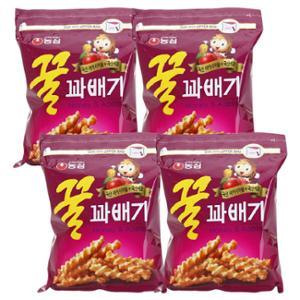 [농심] 꿀꽈배기(지퍼/대) _ 285g