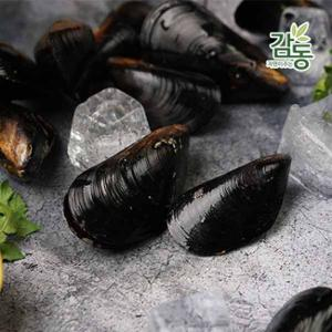 세척 손질된 껍질 홍합 500g