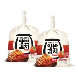 ★추천★[동원] 자연을 담그다 양반김치 썰은김치 1.5kg X 2개