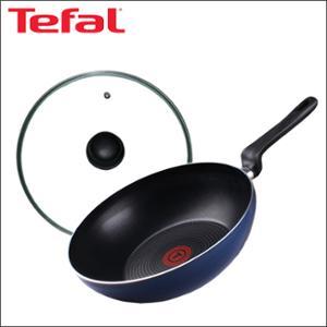 [테팔] 파워 블루 멀티팬 28cm + 유리뚜껑 28cm