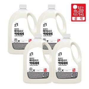 8無 베이킹소다 액체 세제 3.2L 4개/섬유유연제 세탁