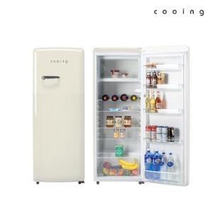 쿠잉 레트로 냉장고 REF-S240C 244L 소형/미니/원도어