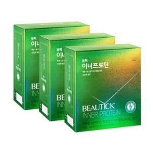 동원 뷰틱 이너프로틴 490g (35g*14포) X 3개 / 단백질 20g, 소화효소 함유 / 오곡미숫가루맛 / 건강기능식품