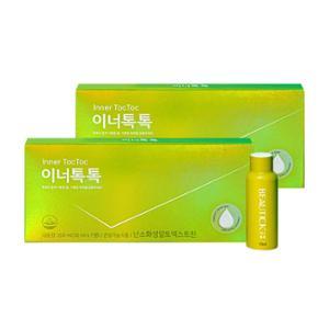 동원 뷰틱 이너톡톡 350ml (50ml*7병) X 2개 / 마시는 장건강 / 난소화성말토덱스트린 함유 / 건강기능식품