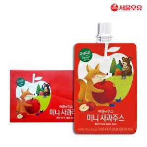 서울우유 아침에주스 미니 사과주스 100ml 10팩