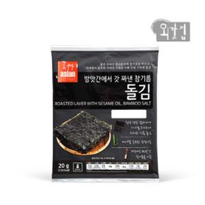 [외갓집] 방앗간에서 갓 짜낸 참기름 돌김 20g x 10봉