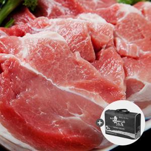 제주 흑돼지 선물세트A (앞다리1kg+갈비1kg)+선물가방