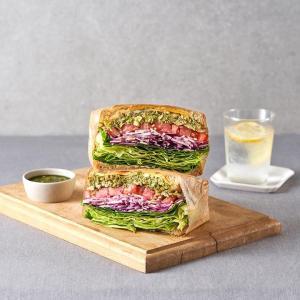 바질페스토 닭가슴살 샌드위치 (한개)