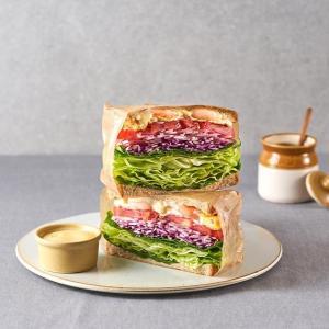 화이트크림 깐쇼새우 샌드위치 (한개)