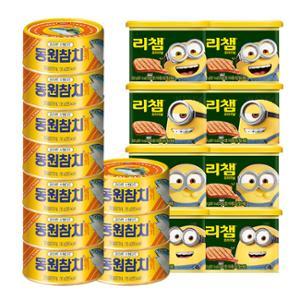 [동원]라이트스탠다드(레트롯) 135gx10캔+미니언즈 리챔 300gx8캔