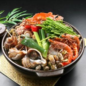 [착한어부]해물탕 1kg(꽃게,지락,리비,홍합7종+소스)