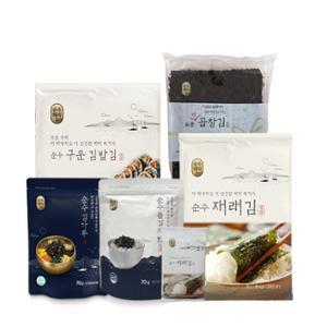 [순수해작] 김 골라담기