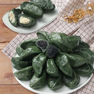 [영광떡공방] 우리쌀로 빚은 생모시떡 동부 2팩 + 검정깨 2팩