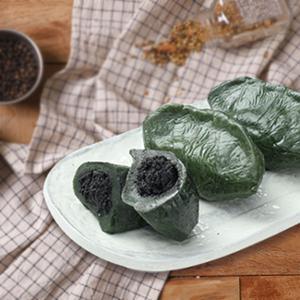 [영광떡공방] 우리쌀로 빚은 생모시떡(검정깨) 350g x 2팩