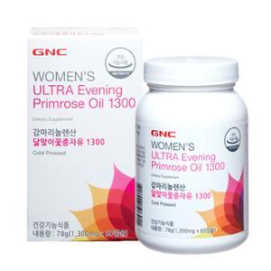 GNC 감마리놀렌산 달맞이꽃종자유 1300 (1,300mg X 60캡슐)
