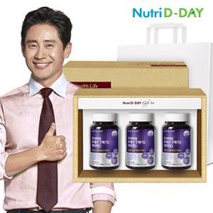 [뉴트리디데이] 루테인 오메가3 비타민D 3병 선물세트 1,302mg x 90캡슐 /9개월분