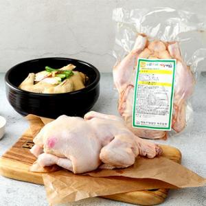 제주동원 백숙용 생닭(냉장) 1kgx2개(총2kg)