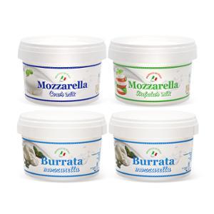 [유로포멜라] 냉동치즈 4개 세트 (부라타2+카우1+버팔로1)