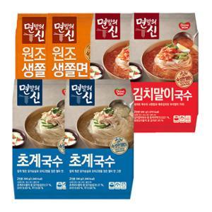 [동원] 면발의신 초계국수 2봉+김치말이국수 2봉+쫄면 2봉