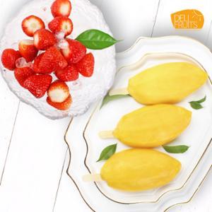 [델리후르츠] 아이스 망고바 60g x 10개 + 아이스 딸기 1kg
