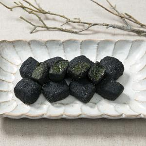 [떡미당] 우리쌀로 만든 리얼 흑임자쑥 인절미 300g x 2개
