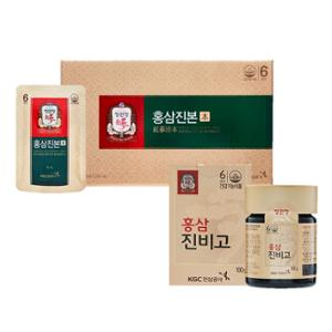 [정관장] 홍삼진본 40mlx30포 + 홍삼진비고 100g