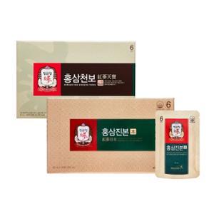 [정관장] 홍삼진본 40mlx30포 + 홍삼천보 50mlx30포