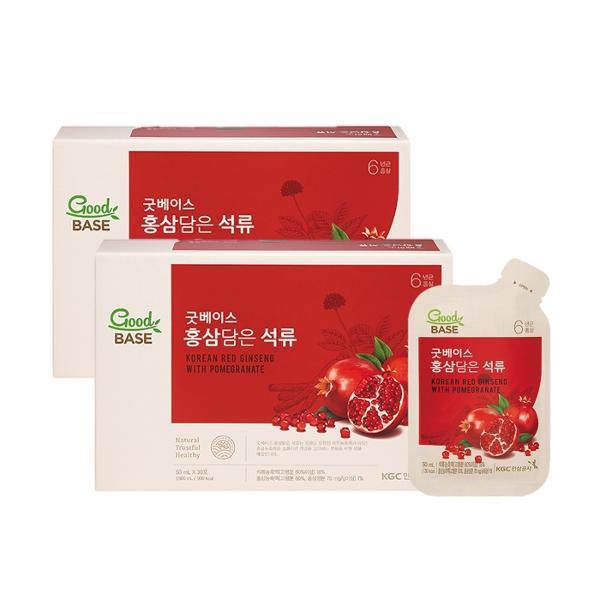 [정관장] 굿베이스 홍삼담은 석류 (50mlx30포) 2박스
