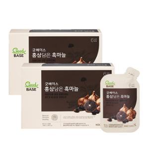 [정관장] 굿베이스 홍삼담은 흑마늘 (50mlx30포) 2박스