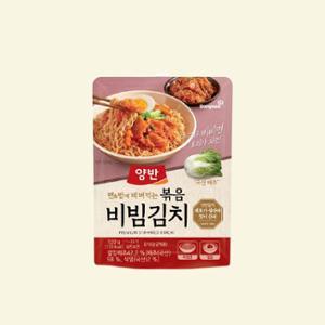 ★신규출시★[동원] 누구나 비비면 요리가 되는 볶음비빔김치 120g X 5개
