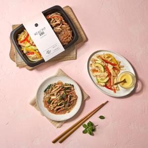 [칼로핏350] 닭가슴살 냉채샐러드 & 곤약 잡채