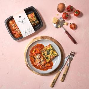 [칼로핏350] 시금치 오믈렛 & 치킨 토마토스튜