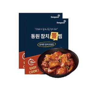 소스맛 강추[동원산업] 동원참치뽈찜 남대문갈치조림맛 650g X 2입
