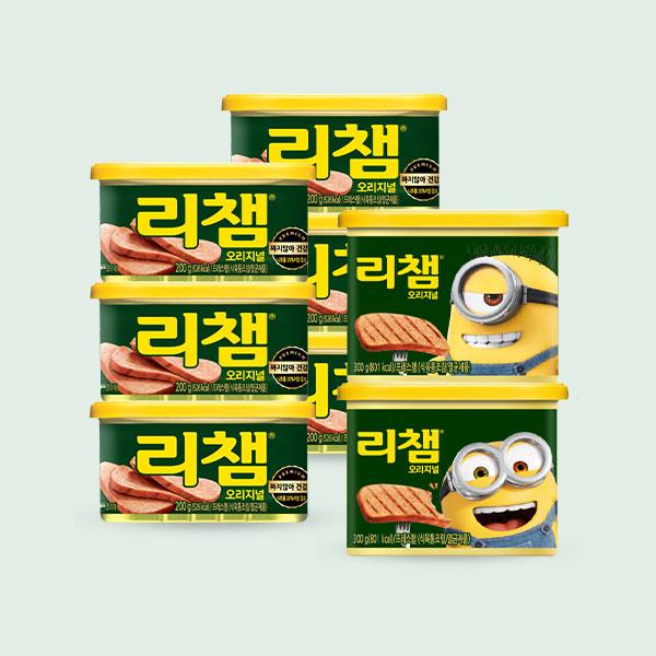 리챔 200gx10캔 + 미니언즈 리챔 300gx4캔