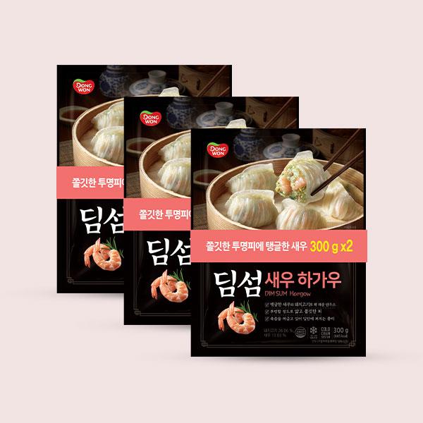 [동원] 딤섬 새우하가우 300g X 6봉