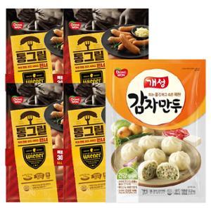 [동원] 통그릴 소시지 윈너 300gx4봉 + 개성감자만두 2.2kg