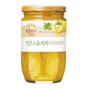 [복음자리] 민트&유자차500g